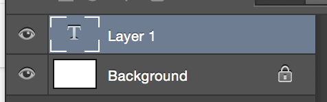 text layer